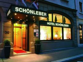 City Hotel Schönleber, отель в Вюрцбурге
