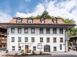 Romantik Hôtel l'Etoile, Hotel in der Nähe von: Wellnesscenter Les Bains de la Gruyère, Charmey