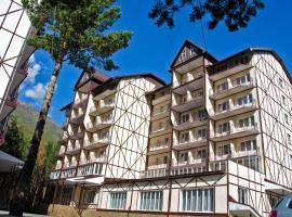 Snezhniy Bars Cheget, hotel in Terskol