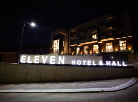 Eleven Hotel and Hall, hotel v destinaci Almaty