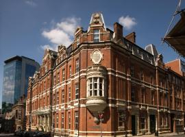 Hotel du Vin Birmingham, hotel near Museum of the Jewellery Quarter, Birmingham