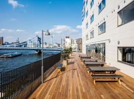 LYURO 東京清澄 by THE SHARE HOTELS, hostel in Tokyo
