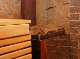 """Sauna - akva Relax VIP apartment Kiev, готель типу """"ліжко та сніданок"""" у Києві"""