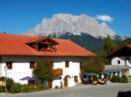 Hotel zum Goldenen Löwen, hotel a Biberwier