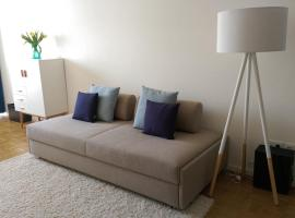 Cosy little apartment, hotel with parking in Munich