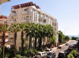 Belle Ocean Apart Otel, отель в городе Аланья, рядом находится Луна-парк Алании