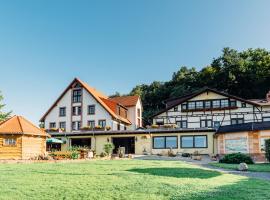 """Erlebnishotel """"Zur Schiffsmühle"""", hotel in Höfgen"""