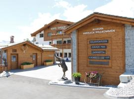 Hotel Sarain Active Mountain Resort, hotel in Lenzerheide