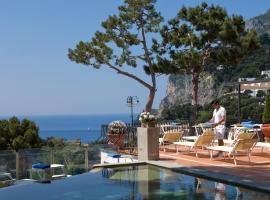 Casa Morgano, hotel in Capri