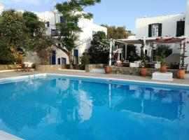 Andromeda Residence, serviced apartment in Mikonos