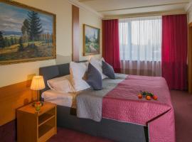TOP HOTEL Praha – hotel w Pradze