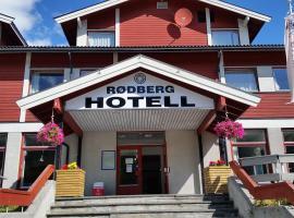 Rødberg Hotel, hotell i nærheten av Gaustatoppen i Rødberg