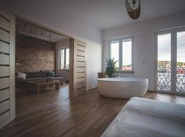 NEW! The Grand Budapest View*****, hotel with jacuzzis in Budapest