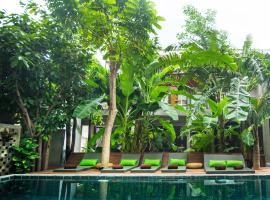 Sarina Boutique Hotel, отель в Пномпене
