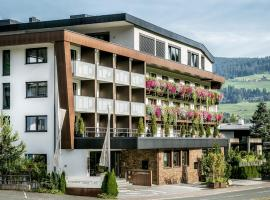Hotel Restaurant Spa Rosengarten, отель в городе Кирхберг-ин-Тироль