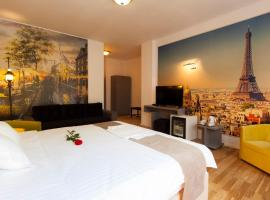 Ambra Boutique Hotel & Bistro, хотел в Констанца