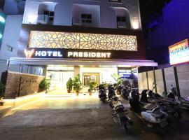 Hotel President, hotel near Dr. Babasaheb Ambedkar International Airport - NAG, Nagpur