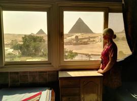 سفنكس جست هاوس، إقامة منزل في القاهرة