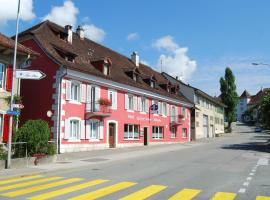 Hotel-Rotisserie La Tour Rouge, отель в городе Делемон