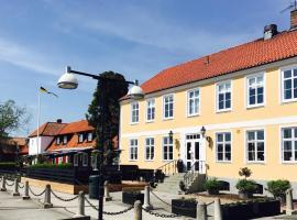 Åhus Gästgivaregård, hotell i Åhus