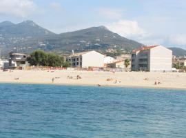 Hôtel Beach, hôtel à Propriano