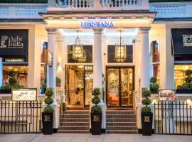 The Montana Hotel, hotel near South Kensington Underground Station, London