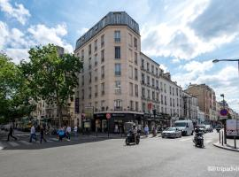 Hotel de L'Union, hotel near Gambetta Metro Station, Paris