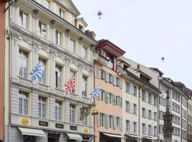 Altstadt Hotel Krone Luzern, hotel in Lucerne
