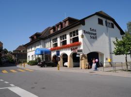Hotel Schiff am See, hôtel à Morat