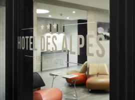 Hotel des Alpes, hôtel à Genève