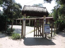 Pousada e Camping Paraíso dos Golfinhos, family hotel in Ilha do Mel