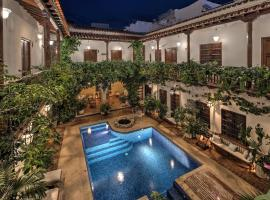 Hotel Boutique Casa Del Arzobispado, hotel in Cartagena de Indias