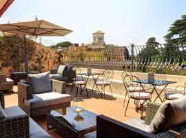 Hotel Degli Artisti, hotel v blízkosti zaujímavosti Stanica metra Barberini Fontana di Trevi (Rím)