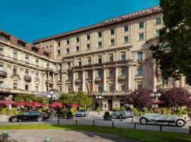 Hotel Nassauer Hof, hotel en Wiesbaden