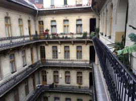 Klauzál Apartman, hostelli Budapestissä