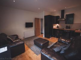 Contemporary open plan two bedroom, hotel in Aberdeen