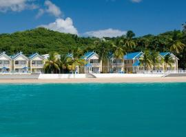 Villa Beach Cottages, hotel with jacuzzis in Castries