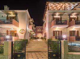 Theofilos Paradise Boutique Hotel, отель в Митилини
