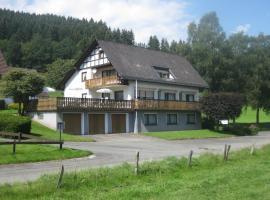 Pension-Gästehaus Waldhof, hotel in Winterberg