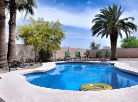 Resort Style Phoenix Home Private Pool, 3BR, vacation rental in Phoenix