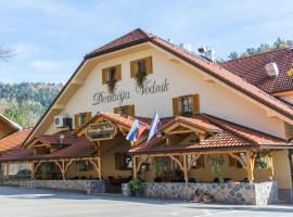 Penzion Vodnik, hotel near Ljubljana Jože Pučnik Airport - LJU,