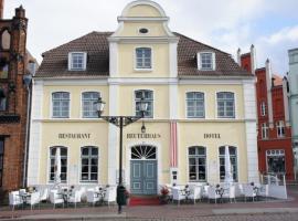 Hotel Reuterhaus Wismar, hotel in Wismar