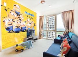 梅迪妮緣分公寓,新山馬來西亞樂高樂園附近的飯店