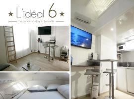 L'IDEAL 6 ( casino a 50m, plage a 150m), apartment in Trouville-sur-Mer