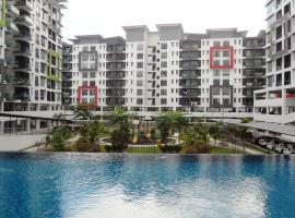 Mahkota Cheras Condo near MRT to KL, homestay in Kuala Lumpur