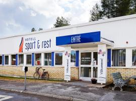 Hotel Sport & Rest, hotel in Bergsviken