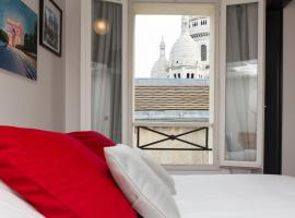 Ateliers de Montmartre ADM, bed and breakfast en París