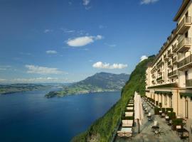 Bürgenstock Hotels & Resort - Palace Hotel, отель в городе Бюргеншток