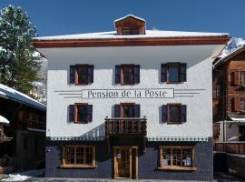 Pension de la Poste, hotel in Zinal
