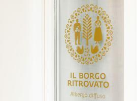 Il Borgo Ritrovato - Albergo Diffuso, hotel Montescagliosóban